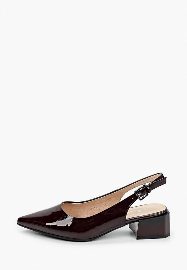 женские туфли berkonty, бордовые