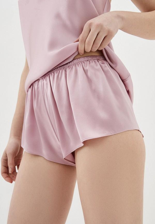 женские шорты kristina méndez couture, розовые