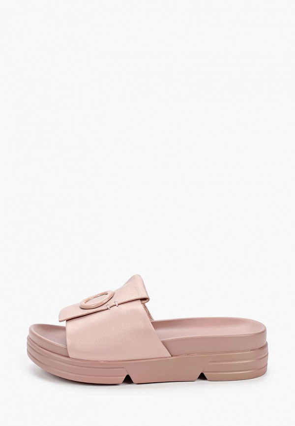 женское сабо mascotte, розовое
