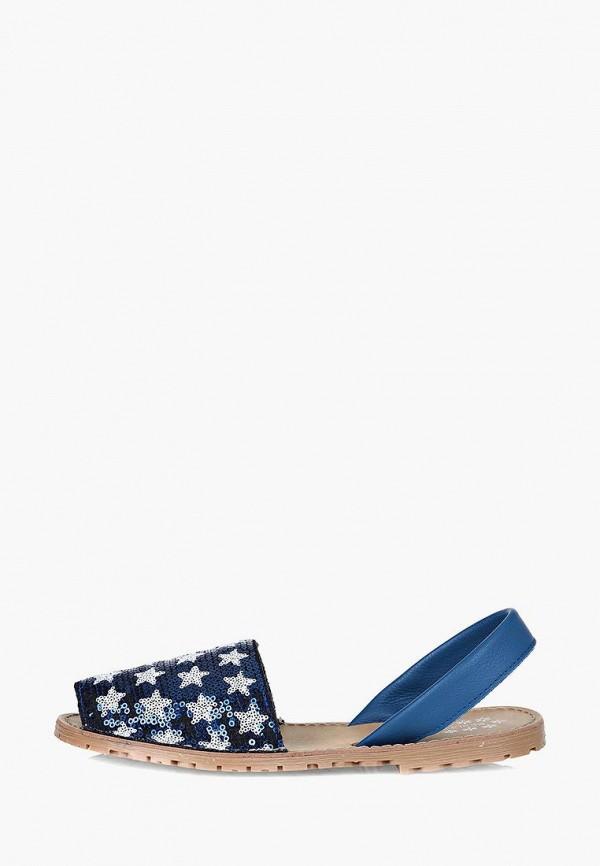 женские сандалии respect, синие