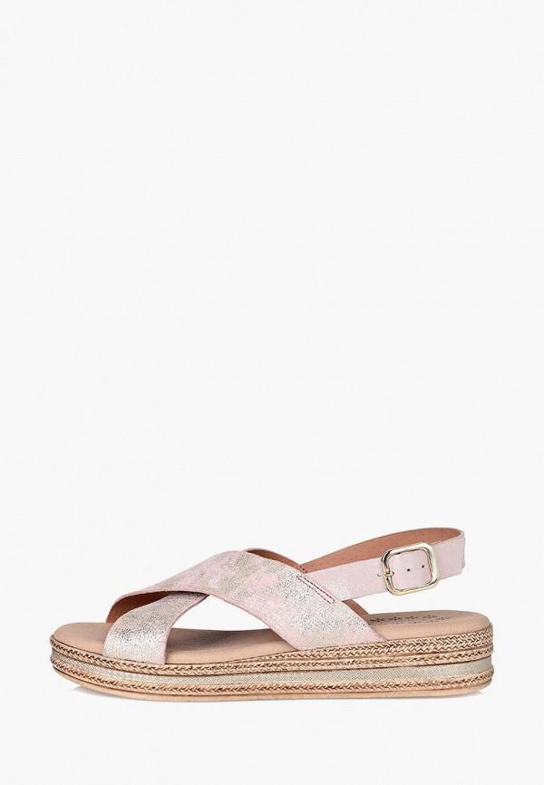 женские сандалии respect, розовые