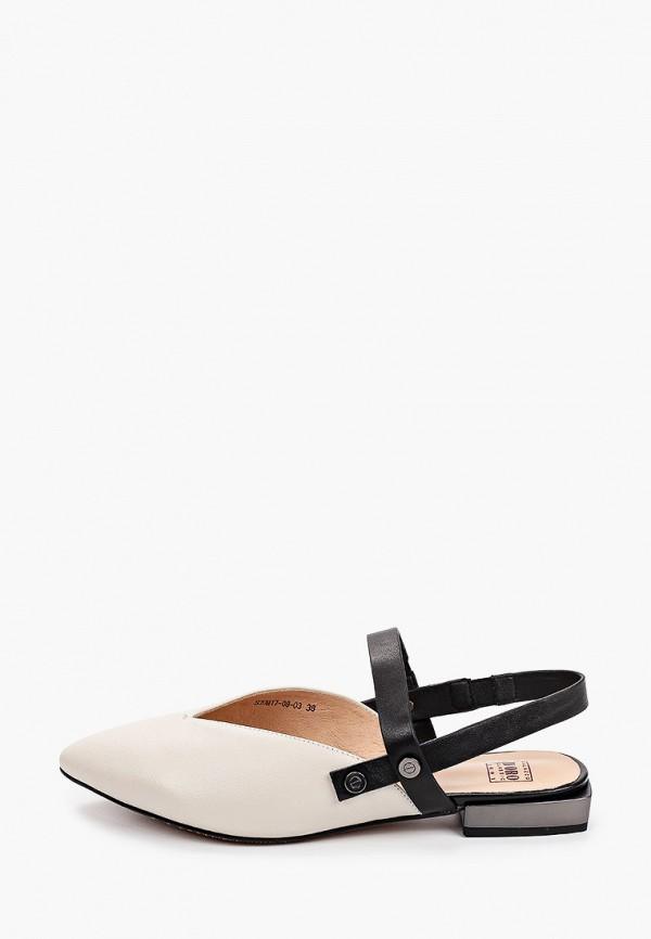женские туфли palazzo d'oro, белые