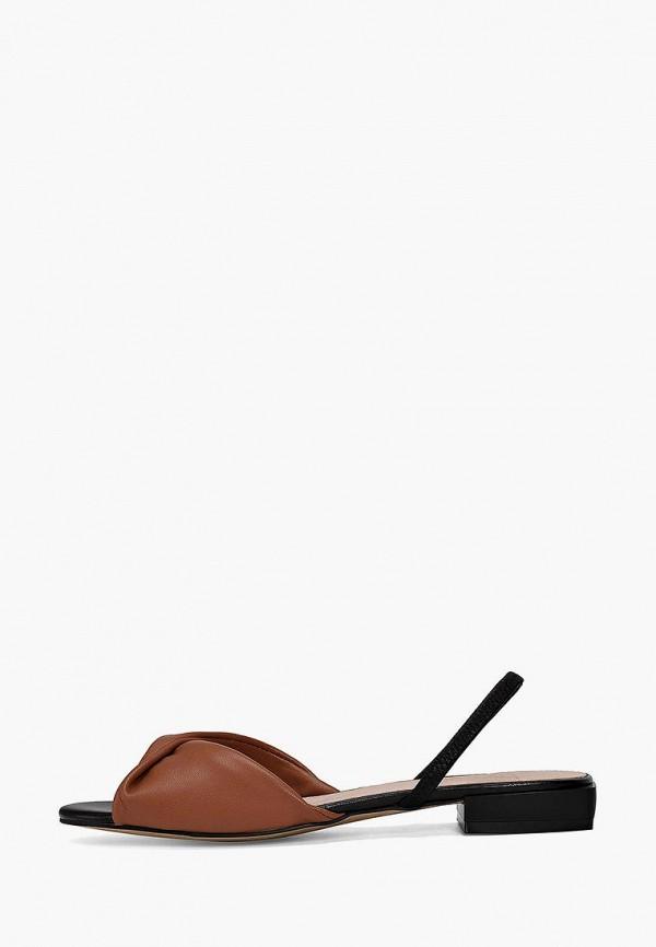 женские сандалии portal, коричневые