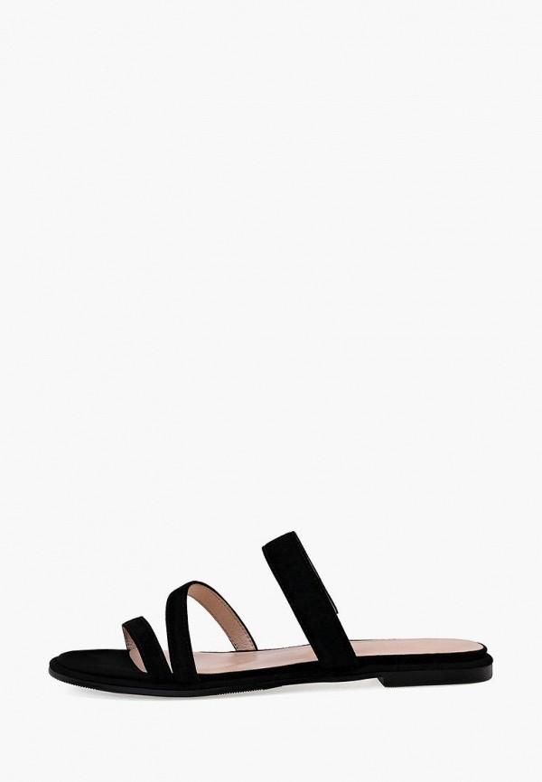 женские сандалии portal, черные