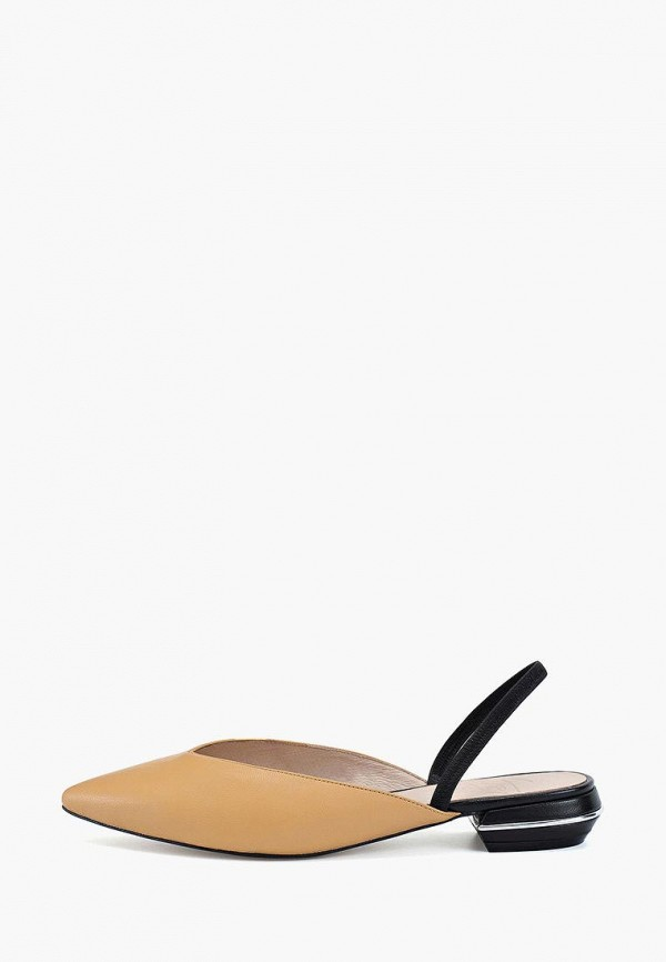 женские туфли portal, желтые