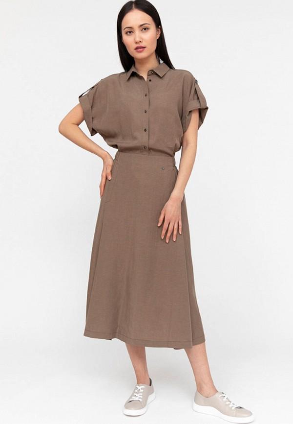 Платье Finn Flare коричневого цвета