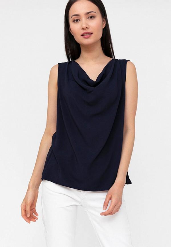 Блуза Finn Flare синего цвета