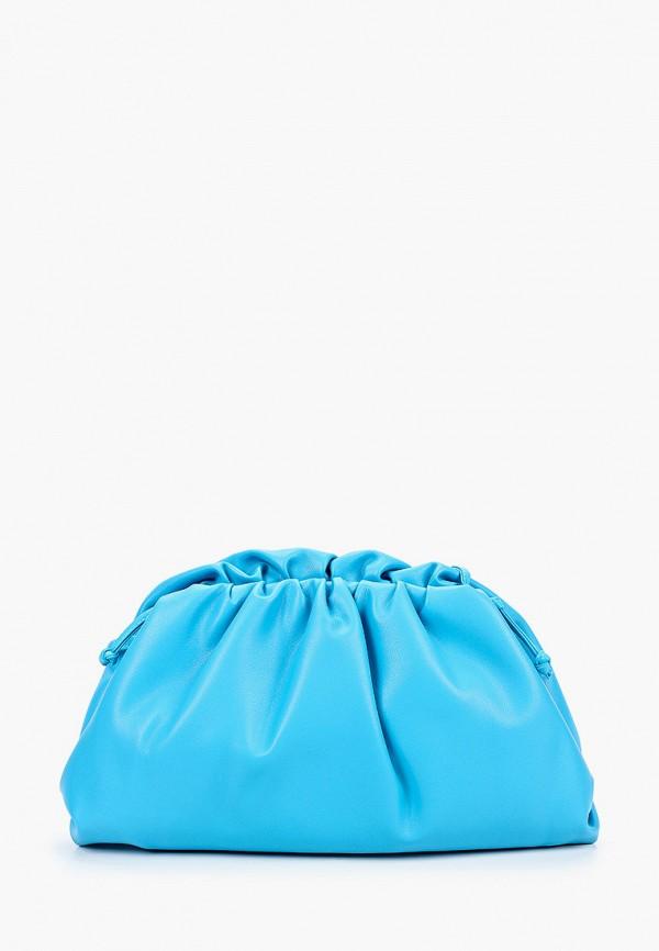 женская сумка через плечо marco bonne', бирюзовая