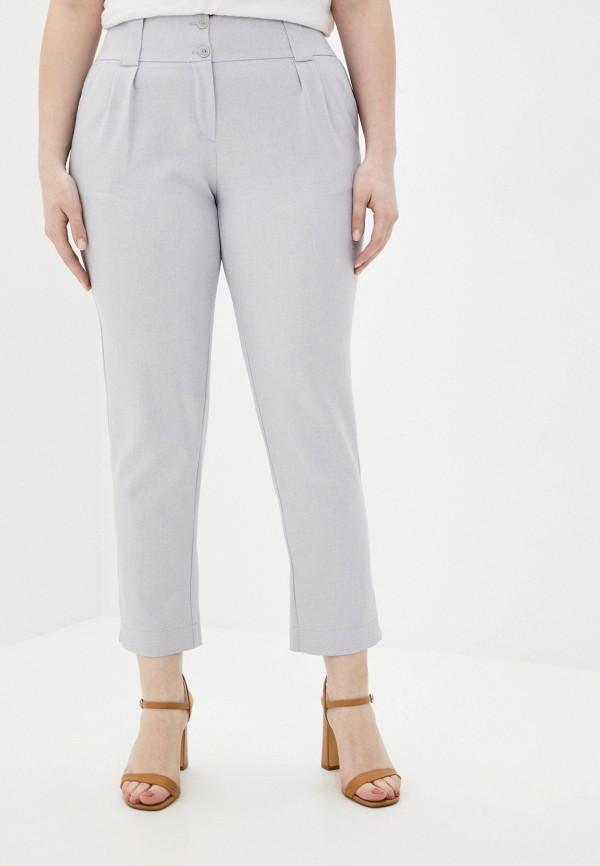 женские повседневные брюки viserdi, серые