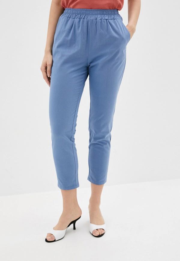 женские повседневные брюки viserdi, голубые