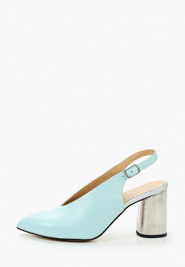 женские туфли stivalli, голубые