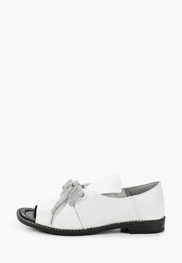 женские туфли с открытым носом stivalli, белые