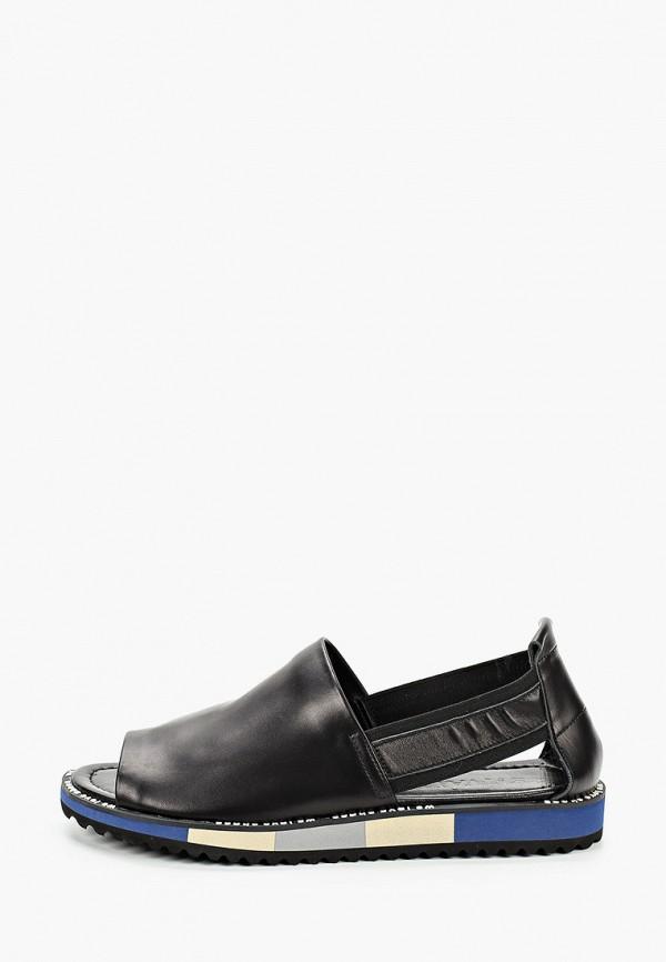 женские туфли с открытым носом stivalli, черные