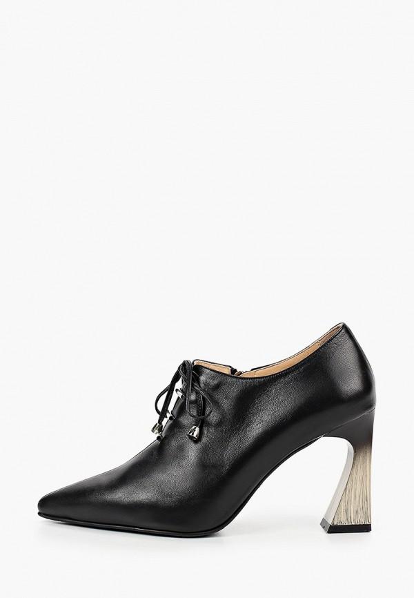 женские туфли с закрытым носом hestrend, черные