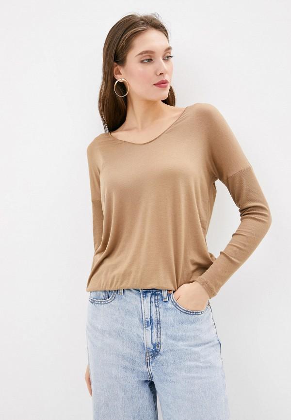 женский пуловер intimissimi, коричневый