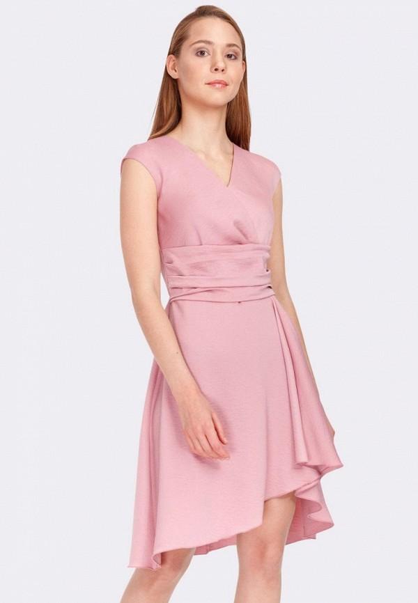 женское платье cat orange, розовое