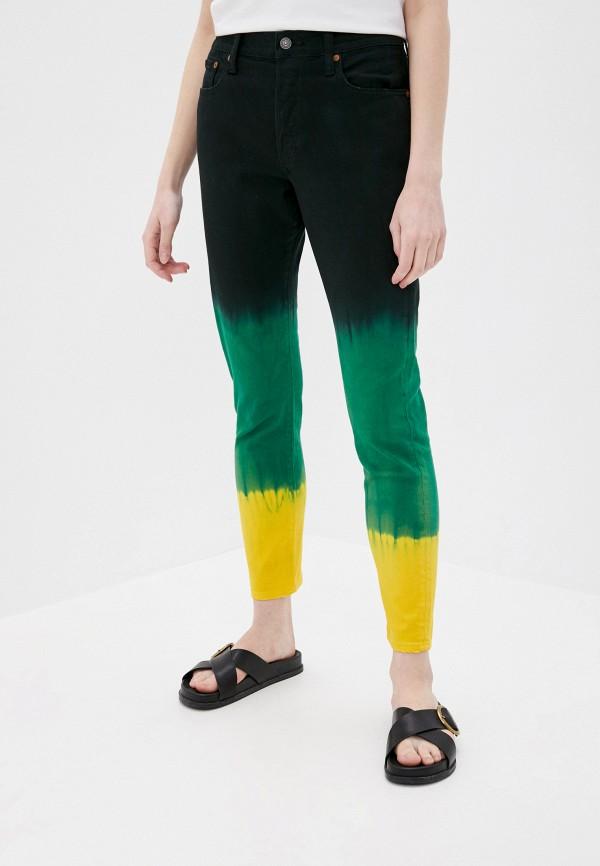 женские джинсы скинни polo ralph lauren, разноцветные