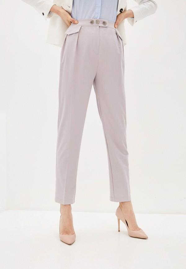 женские классические брюки viaville, серые