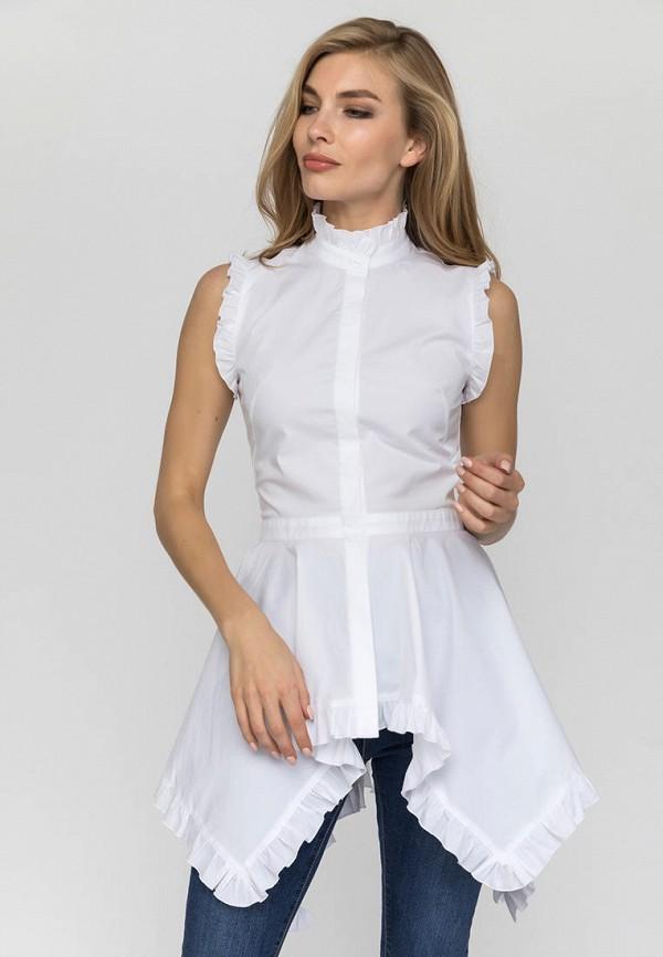 женская туника gloss, белая