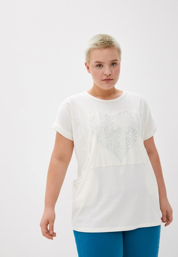 женская футболка olsi, бежевая