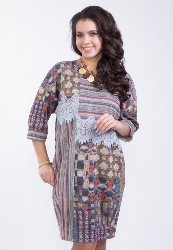 Купить женское платье Wisell разноцветного цвета