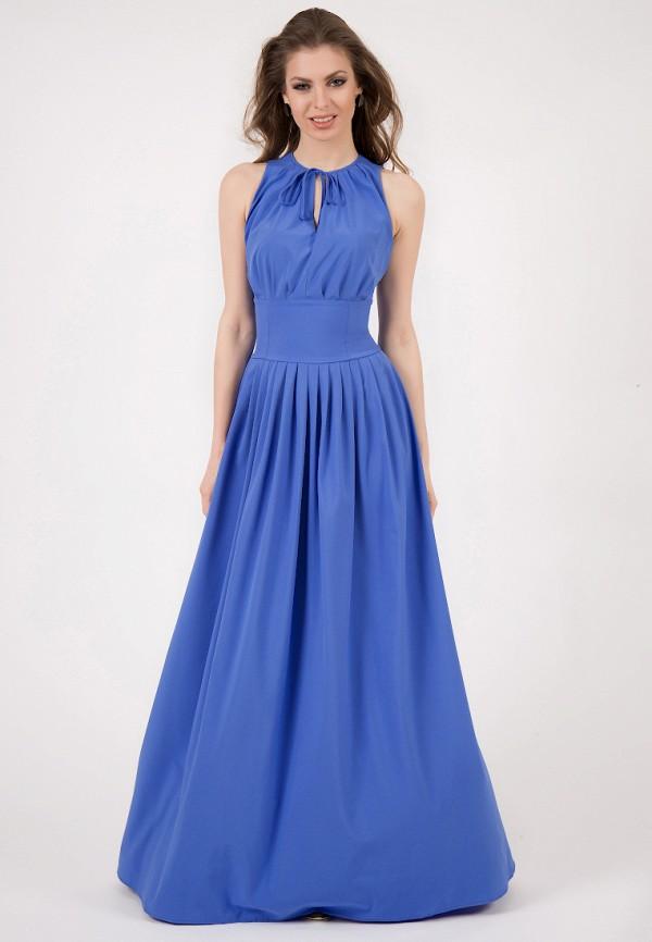 женское вечерние платье olivegrey, синее