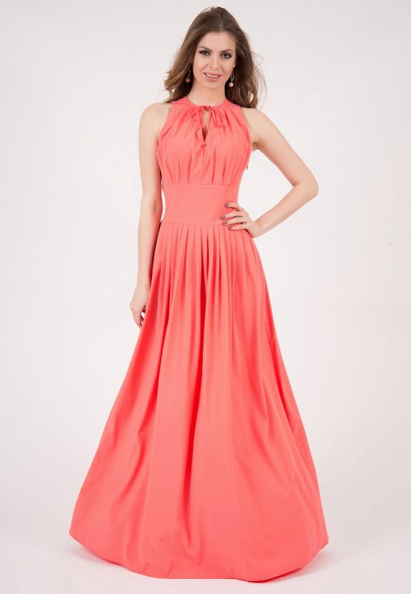 женское платье макси olivegrey
