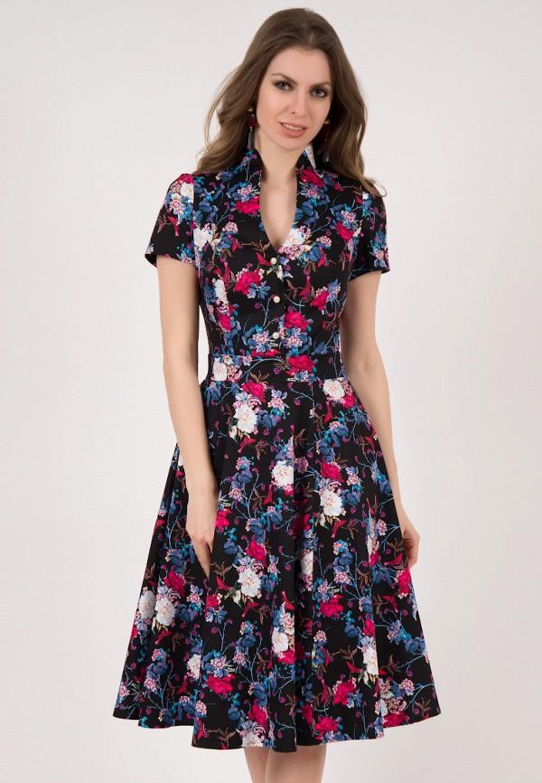 женское платье миди olivegrey, разноцветное