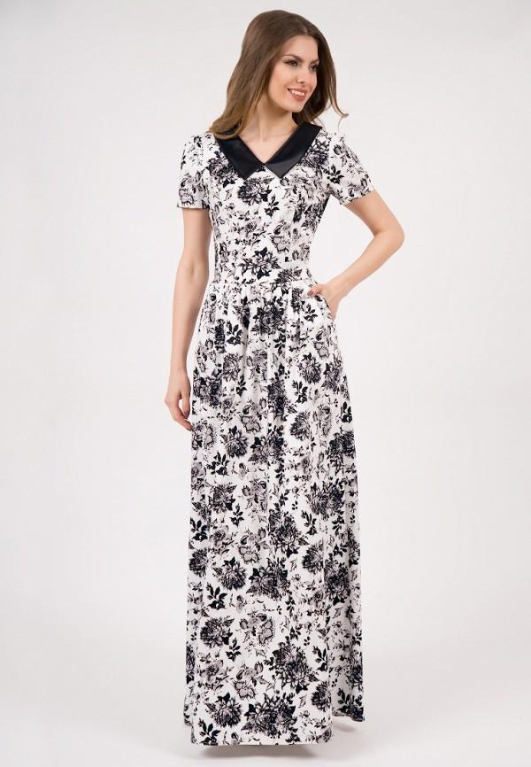 женское платье макси olivegrey, белое