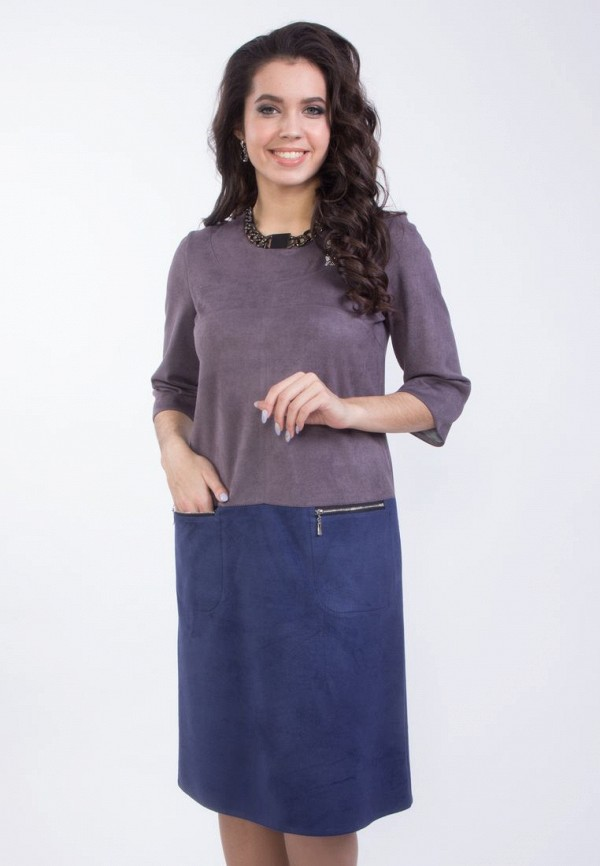 женское повседневные платье wisell, разноцветное