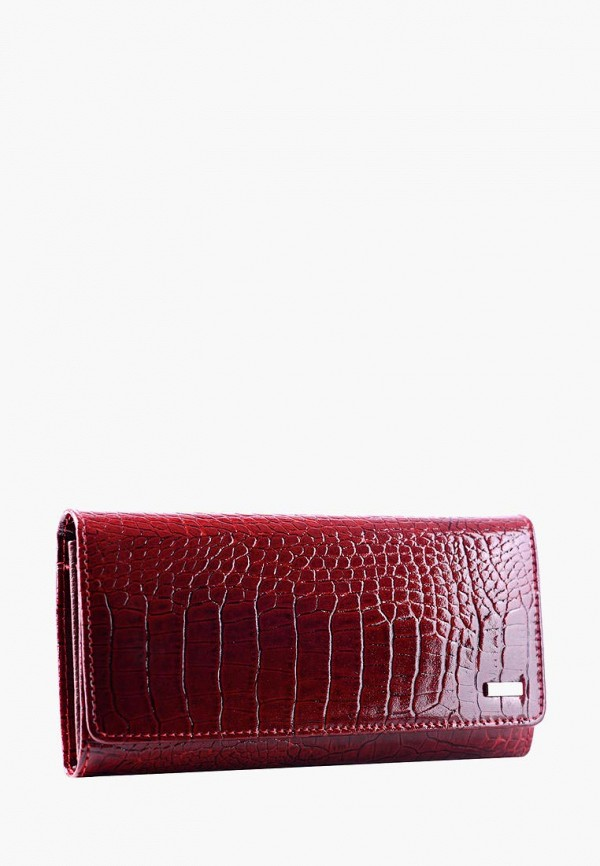 женский кошелёк esse, бордовый