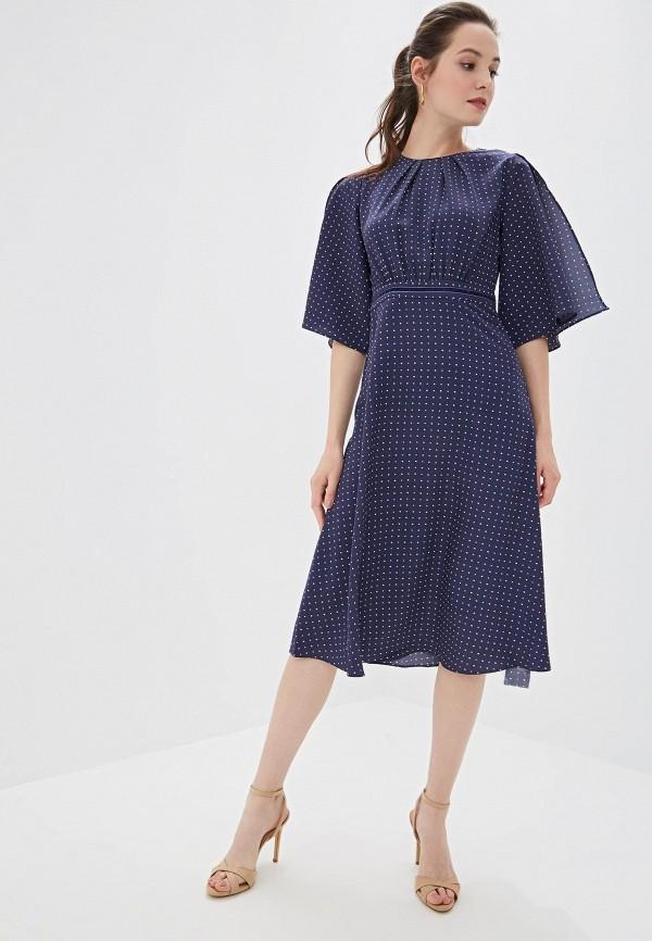 Фото 2 - Платье Zarina синего цвета