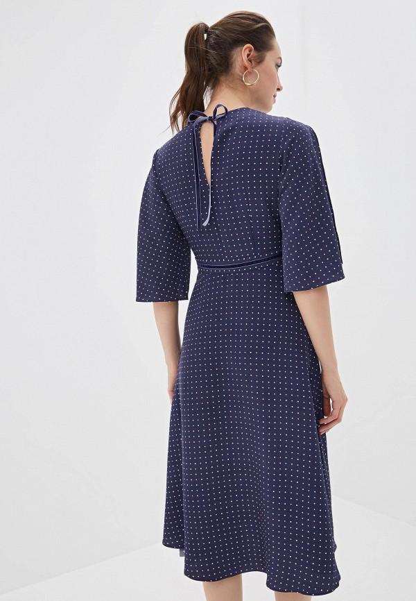 Фото 3 - Платье Zarina синего цвета