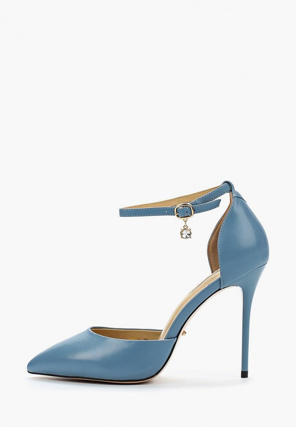 женские туфли vitacci, голубые