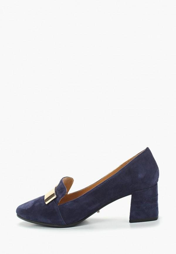 женские туфли с закрытым носом vitacci, синие