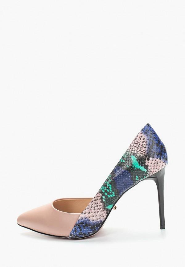 женские туфли-лодочки vitacci, разноцветные