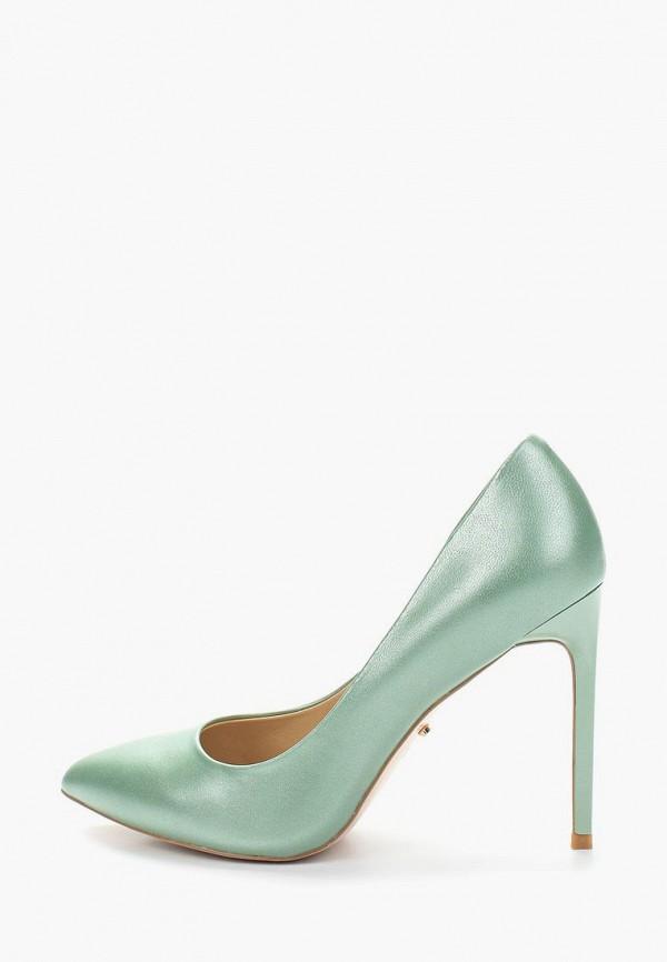 женские туфли-лодочки vitacci, зеленые