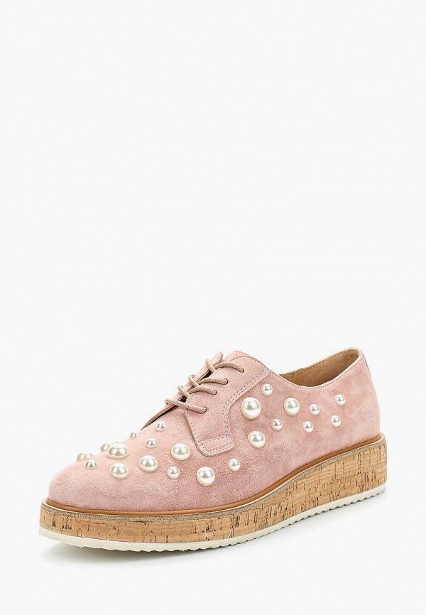 женские низкие ботинки vitacci, розовые