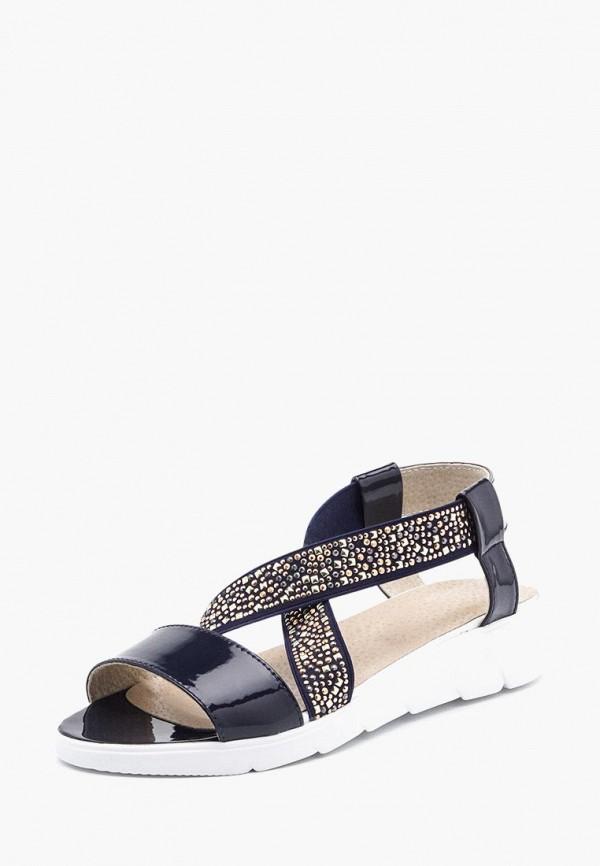 женские сандалии tops, синие