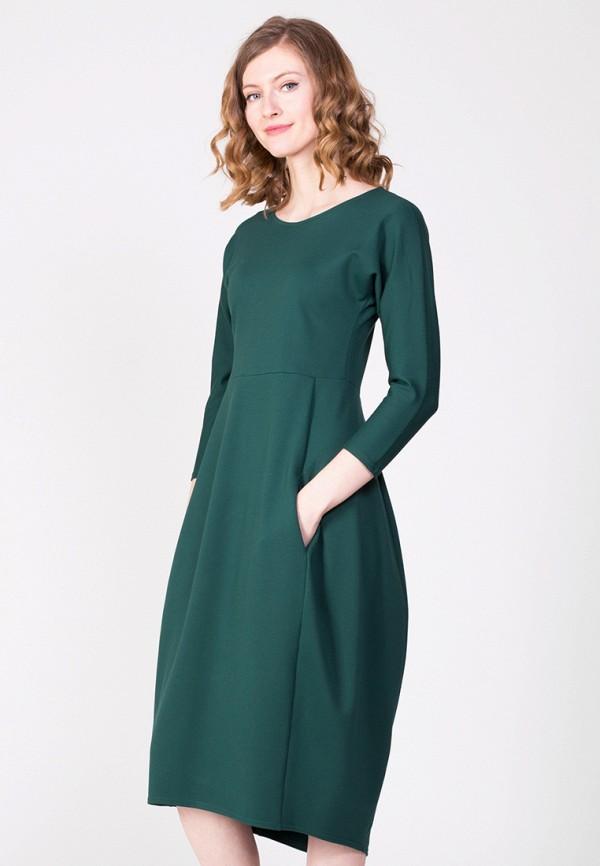 Фото - Женское платье Samos fashion group зеленого цвета