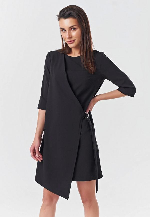 Платье Fly черного цвета