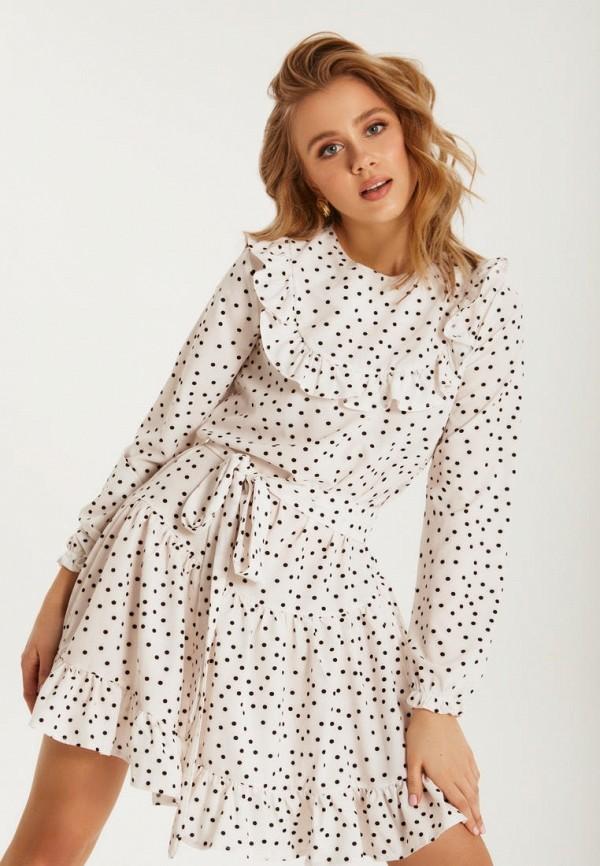 женское повседневные платье gepur, белое