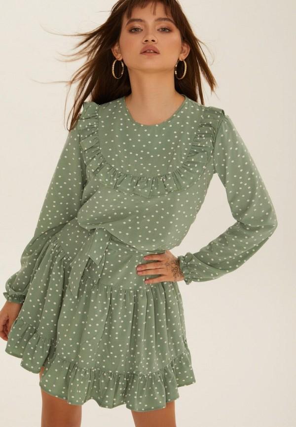 женское повседневные платье gepur, бирюзовое
