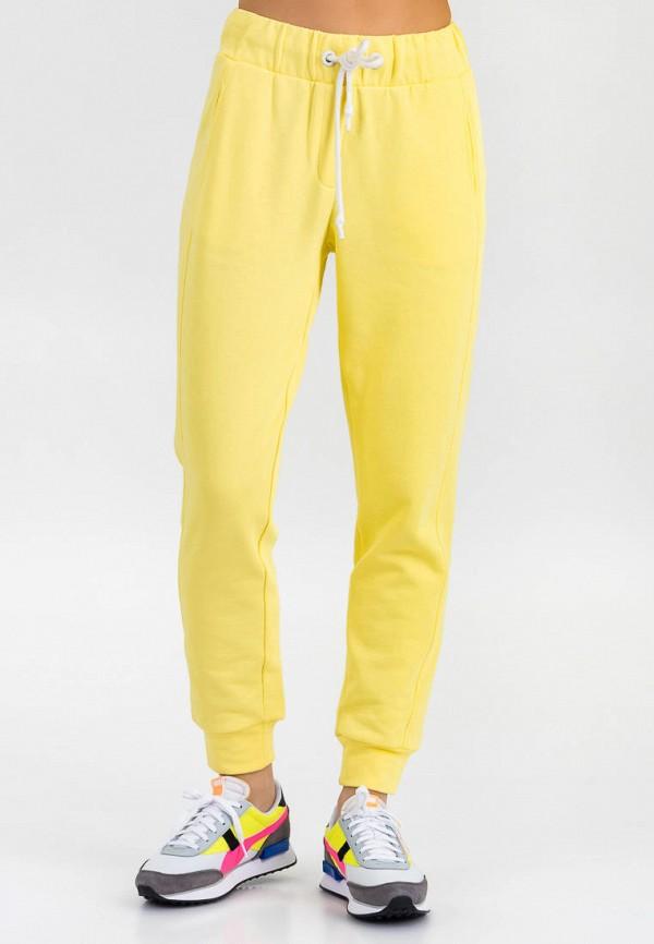 женские спортивные брюки for friends, желтые