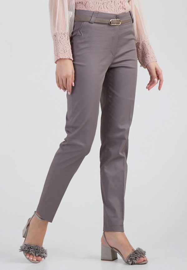женские повседневные брюки das, серые