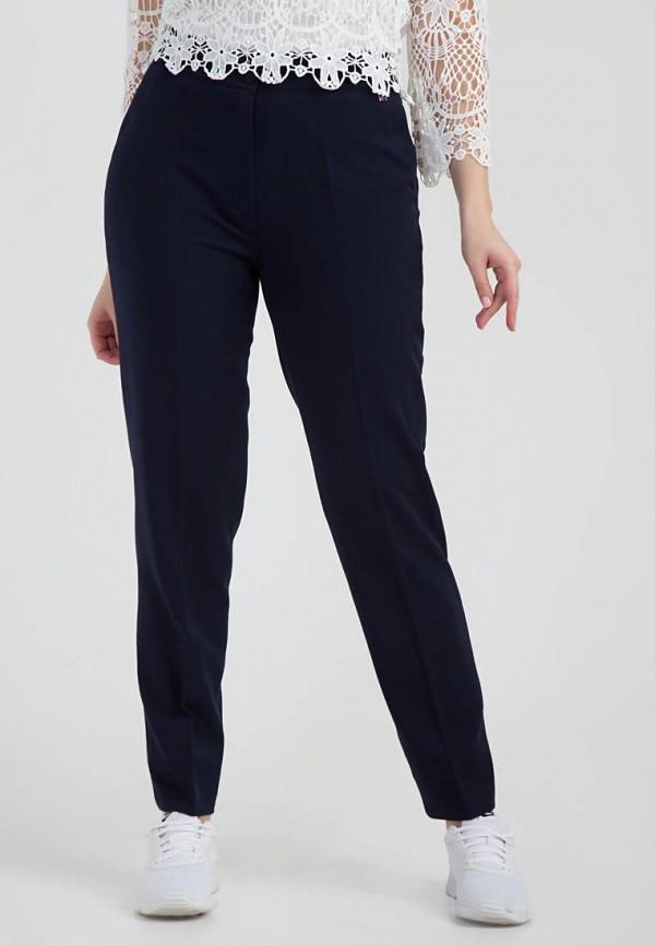 женские повседневные брюки das, синие