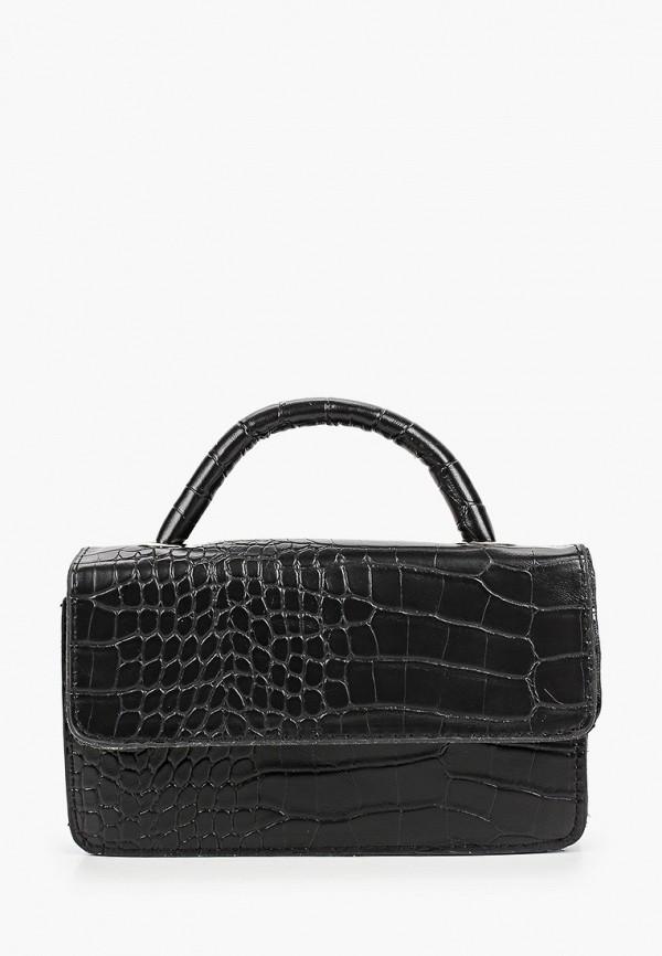 женская поясные сумка sela, черная