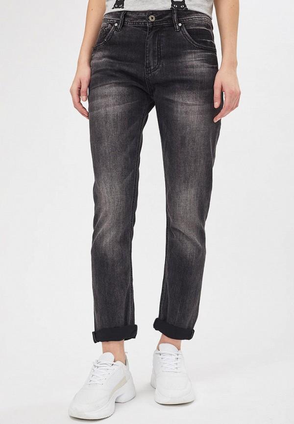 женские джинсы бойфренд mossmore, серые
