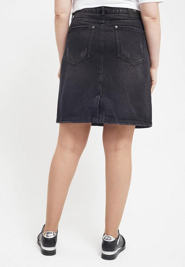 Юбка джинсовая Mossmore цвет серый  Фото 3