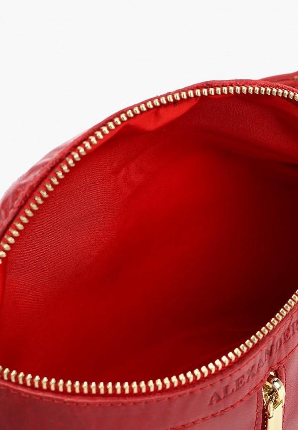 Сумка поясная Alexander Tsiselsky цвет красный  Фото 3